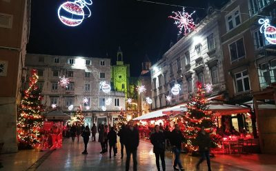 Advent In Split Croatia