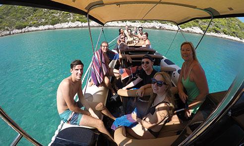 Budikovac island tour