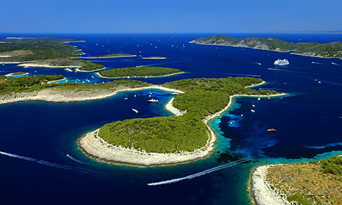 Palmizana, Paklinski Islands near Hvar