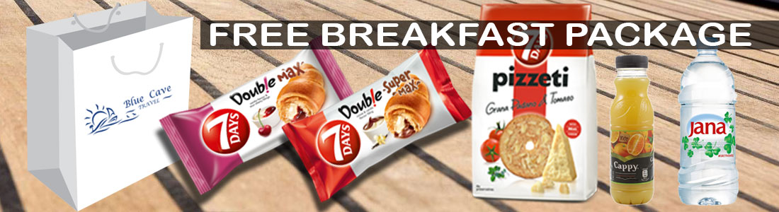 FREE BREAKFAST PACKAGE